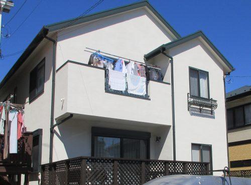 戸建住宅 塗装工事
